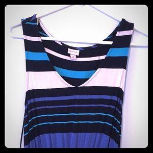 Mid length summer dress